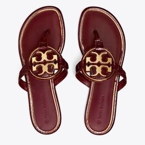 ☀️NWT☀️TORY BURCH Miller Sandals Roma Red 7.5